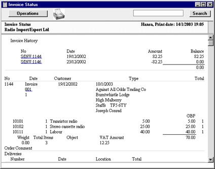HansaWorld Integrated ERP And CRM - Como hacer un invoice en la computadora